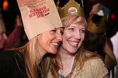 Mom2summit burger king hat