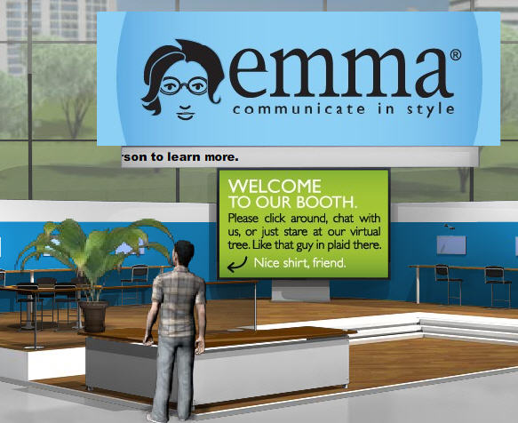Emma virtual booth