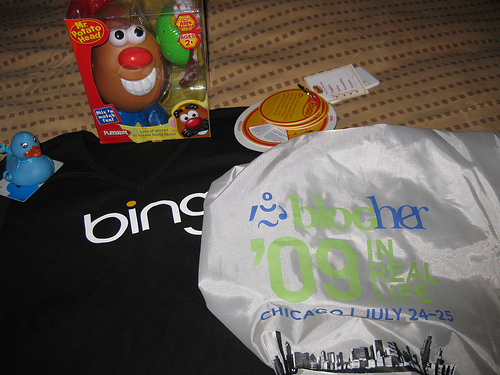 Blogher swag