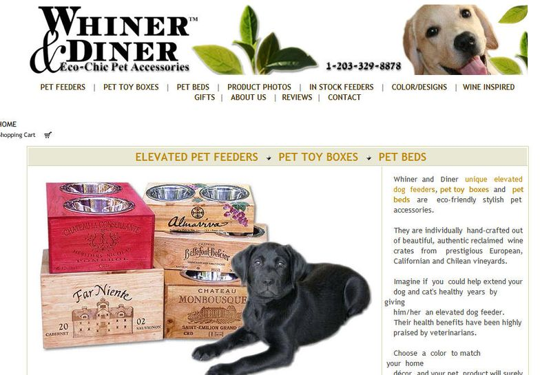 Whiner and diner home page