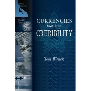 Currencies that buy credibility