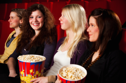 Women buy more movie tickets than men