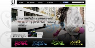 U by Kotex home page