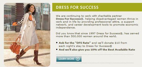 Kimpton Dress For Success Promotion
