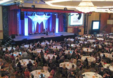 Blogher crowd shot