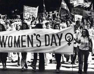 International womens day old photo