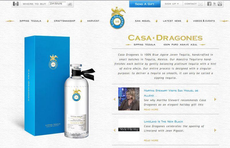 Casa dragones home page