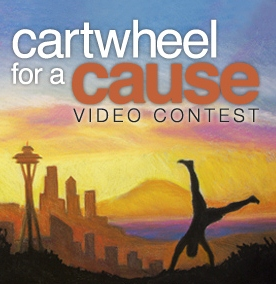 Cartwheel for a cause