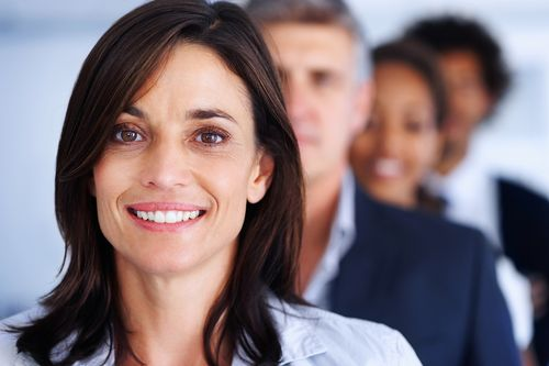 Woman financial adviser