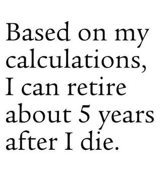 Retirement quote